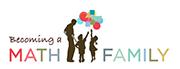 Becoming a Math Family logo