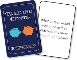 Talking Cents cards
